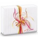 Geschenkzubehör, Dekoartikel, Bänder, Füllmaterial