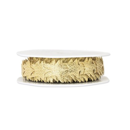 Lurex-Sternenkette gold, 20 mm x 10 m